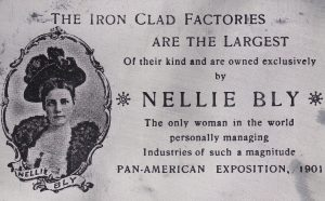 Nellie Bly Iron Clad Factory card
