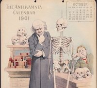 Antikamnia Chemical Company Patent Medicine Advertising Calendar Card from Pawn Stars