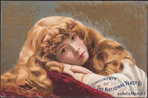 Classic Victorian Trade Card for National Yeast Co. NY