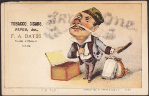 Currier & Ives Victorian Advertising Trade Card